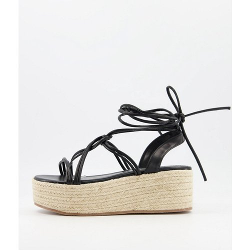 Sandales à plateforme style espadrilles - Glamorous - Modalova