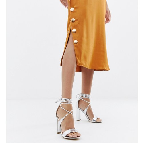 Sandales à talons carrés avec lien à la cheville - Glamorous - Modalova