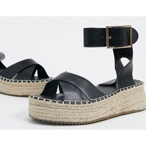 Sandales style espadrilles à semelle plateforme - Glamorous - Modalova