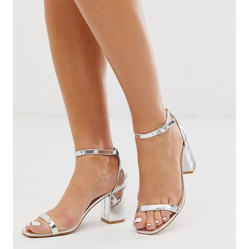 Sandales à gros talons - é - Glamorous Wide Fit - Modalova