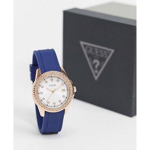 Guess - Montre avec bracelet bleu - Guess - Modalova