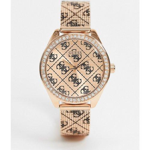 Montre chronographe avec bracelet - Guess - Modalova
