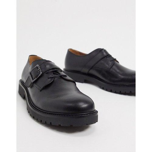 Axel - Chaussures à lacets avec boucle - Cuir - H by Hudson - Modalova