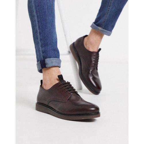 Barnstable - Chaussures en cuir à lacets - Bordeaux - H by Hudson - Modalova