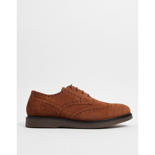 Calverston - Chaussures richelieu en daim - H by Hudson - Modalova