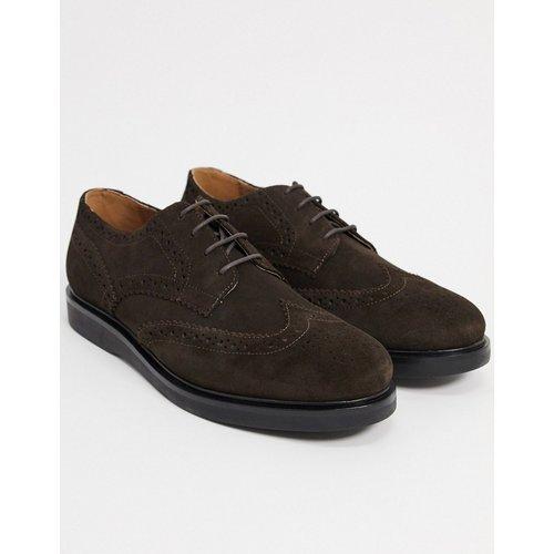 Calverston- Chaussures richelieu en daim - H by Hudson - Modalova