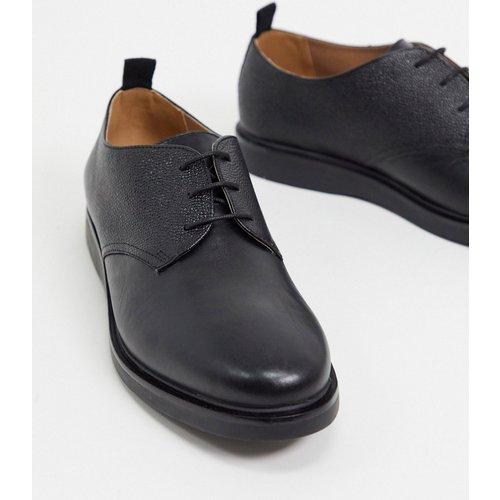 Dumont - Chaussures à lacets en cuir grainé - H by Hudson - Modalova