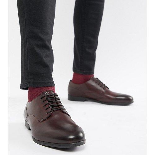 Wide Fit - Axminster - Chaussures habillées en cuir - Lie-de-vin - H by Hudson - Modalova