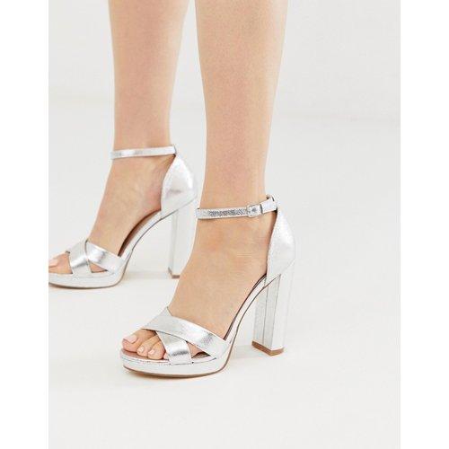 Head Over Heels - Namba - Sandales à talon avec bride cheville et semelle plateforme - Head Over Heels by Dune - Modalova