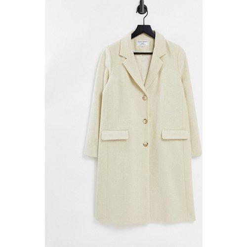 Manteau à chevrons tissés style universitaire - Beige - Helene Berman - Modalova