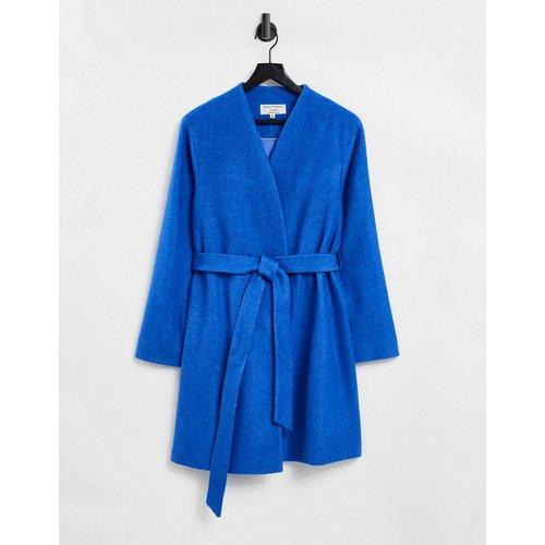Manteau sans col noué à la taille - Helene Berman - Modalova