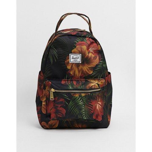 Nova - Mini sac à dos imprimé fleurs tropicales - Herschel Supply Co - Modalova