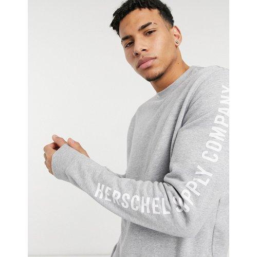 Sweat-shirt ras de cou imprimé sur le bras - Herschel Supply Co - Modalova