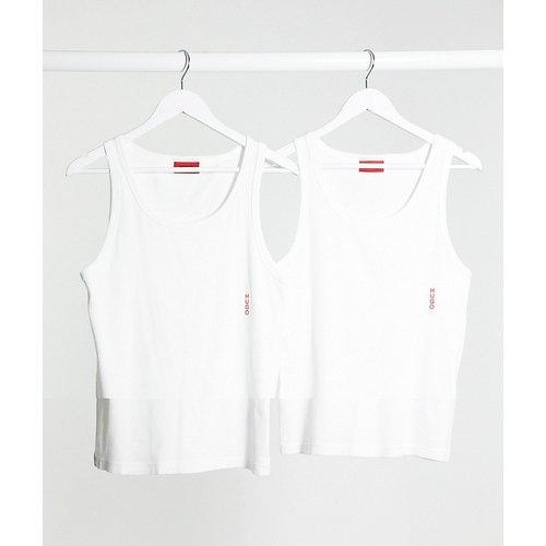 HUGO - Bodywear - Lot de 2 débardeurs avec logo - HUGO Bodywear - Modalova