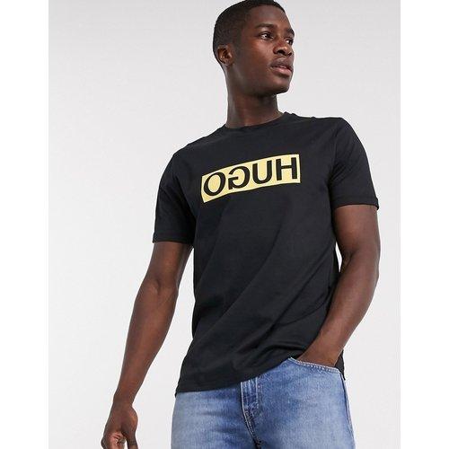 HUGO - Dicagolino - T-shirt avec logo à l'envers - Boss - Modalova