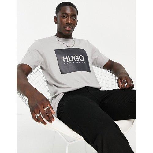 HUGO - Dolive214 - T-shirt - Gris - HUGO - Modalova