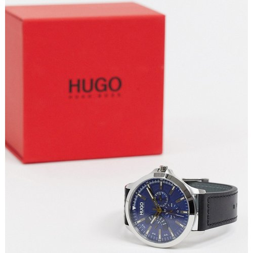 Leap - Montre en cuir - 1530172 - HUGO - Modalova