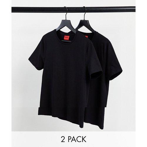 HUGO - Lot de 2 t-shirts - Noir - HUGO - Modalova
