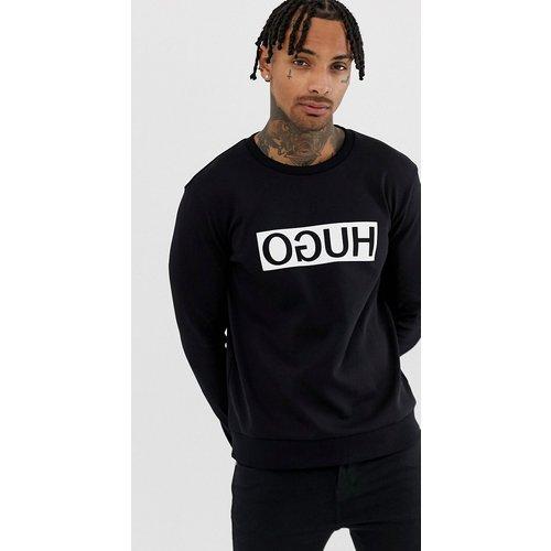 Sweat-shirt avec grand logo - HUGO - Modalova