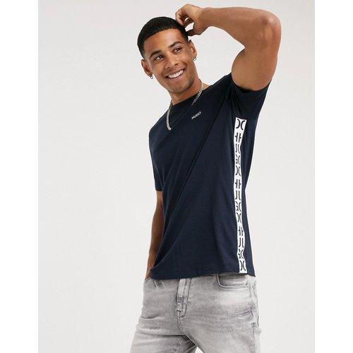 HUGO - T-shirt ras de cou en coton avec inserts logo découpés - Boss - Modalova