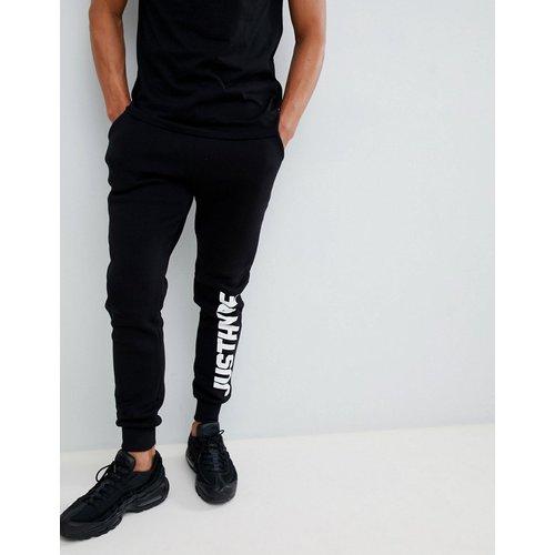 Pantalon de jogging ajusté avec logo sur le côté - Hype - Modalova
