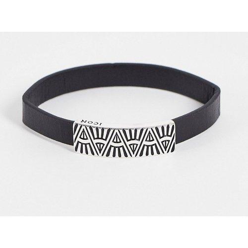 Bracelet en cuir - Icon Brand - Modalova