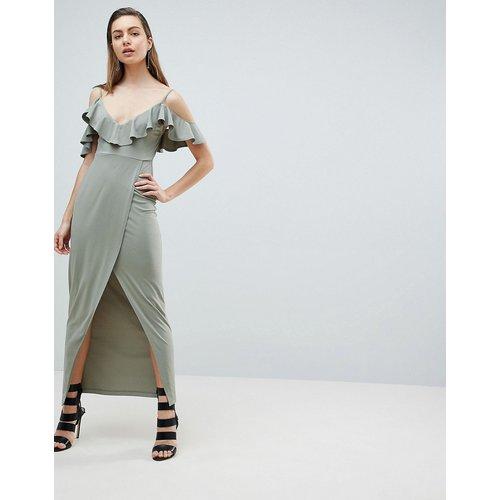 Robe longue style cache-cœur à épaules nues - Ivyrevel - Modalova