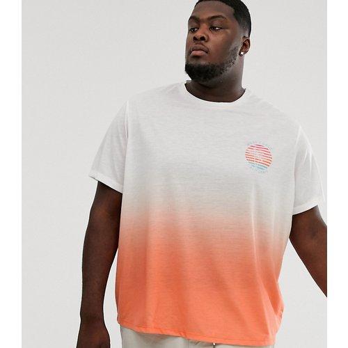 T-shirt avec imprimé délavé - Jacamo - Modalova