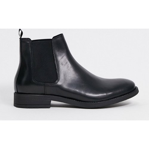 Bottines chelsea en cuir - jack & jones - Modalova