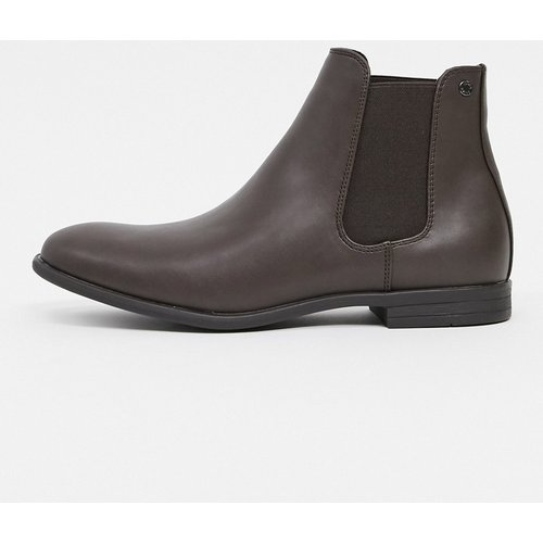 Bottines Chelsea imitation cuir - jack & jones - Modalova