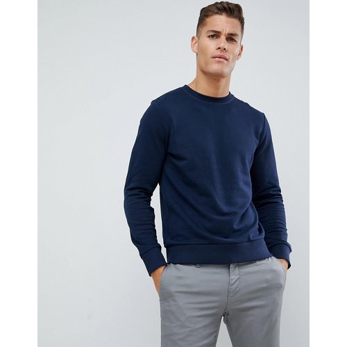 Essentials - Sweat-shirt ras de cou - Bleu marine - jack & jones - Modalova