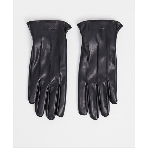 Gants en similicuir - jack & jones - Modalova