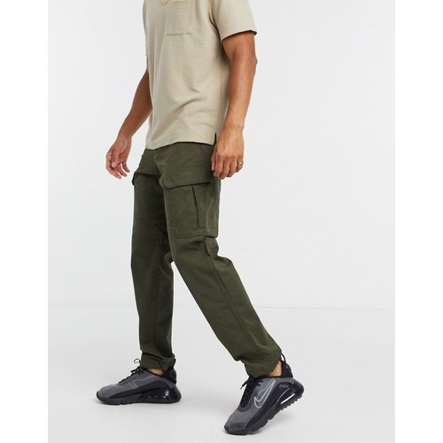 Intelligence - Pantalon cargo coupe ample - Kaki - jack & jones - Modalova