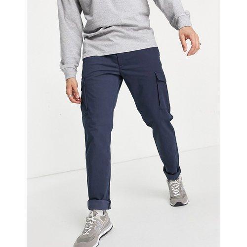 Intelligence - Pantalon cargo coupe slim habillé de style épuré - Bleu - jack & jones - Modalova