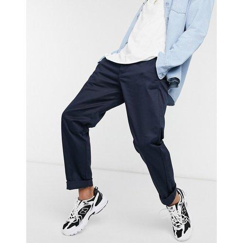 Intelligence - Pantalon chino coupe skateur - Bleu marine - jack & jones - Modalova