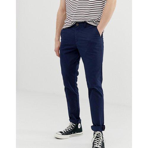 Intelligence - Pantalon slim chino - Bleu marine - jack & jones - Modalova