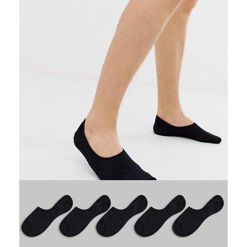 Lot de 5 paires de chaussettes invisibles - jack & jones - Modalova