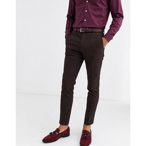 Premium - Pantalon de costume jacquard - jack & jones - Modalova