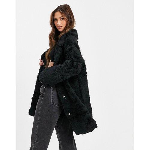 Manteau réversible en imitation peau de mouton - Jayley - Modalova