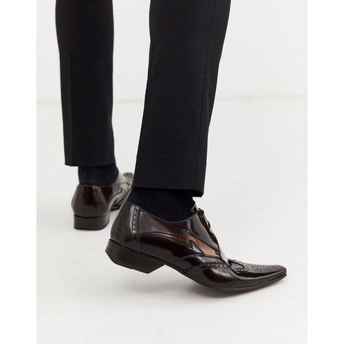 Pino - Chaussures contrastées en cuir ultra brillant - Jeffery West - Modalova