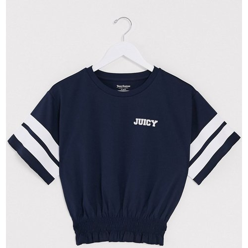 Black Label - Rugby Smocked Couture 95 - T-shirt - marine - Juicy Couture - Modalova