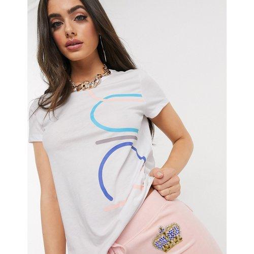 Jxjc Juicy - T-shirt graphique effet rétréci - Juicy Couture - Modalova