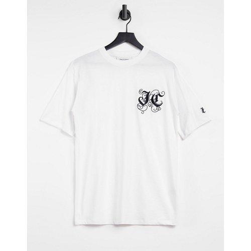 Marc - T-shirt boyfriend avec logo brodé - Juicy Couture - Modalova