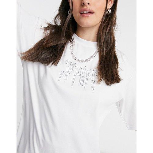 T-shirt à logo façon ruissellement en strass - Juicy Couture - Modalova