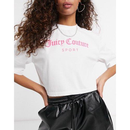 T-shirt court à logo - Juicy Couture - Modalova