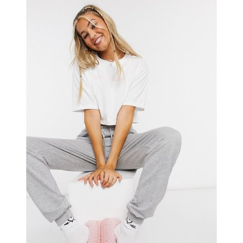 T-shirt court coupe carrée à logo - Juicy Couture - Modalova