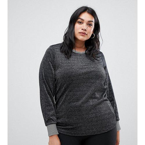 Sweat-shirt métallisé - Junarose - Modalova