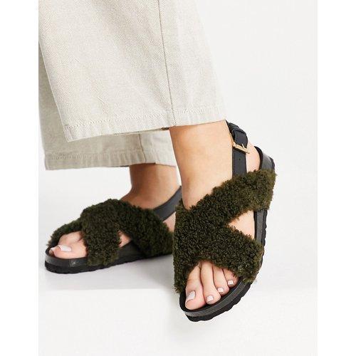 Sandales plates duveteuses - Kaltur - Modalova