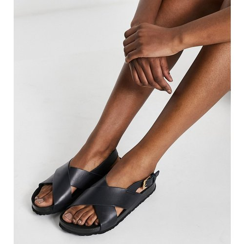 Sandales plates en cuir - Kaltur - Modalova