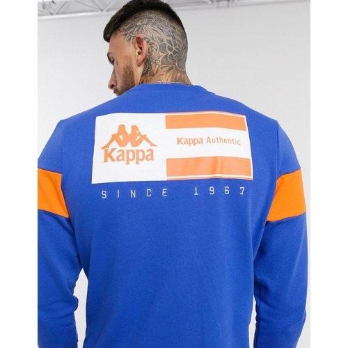 Authentic LA Cemars- Sweat-shirt à imprimé au dos - Kappa - Modalova